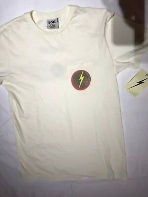 (NWT J Crew Lighting Bolt Forever Collab T-shirt Small - sold out rare)