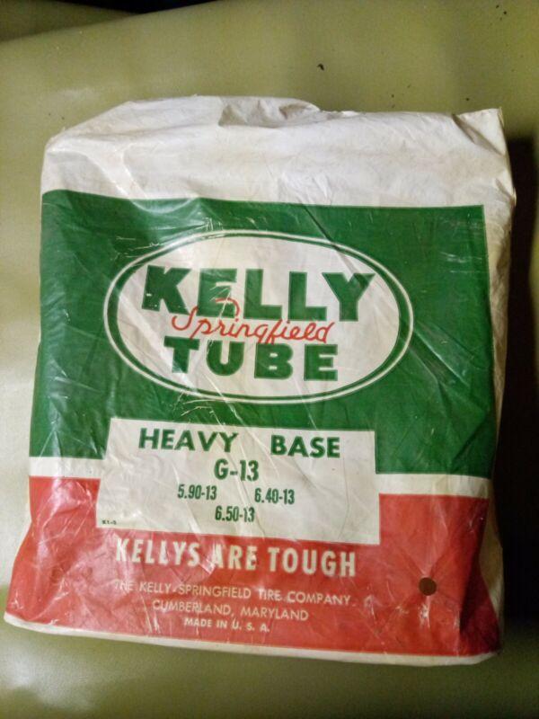 VINTAGE ORIGINAL KELLY SPRINGFIELD TIRE TUBE GAS STATION ADVERTISING  Rare MD