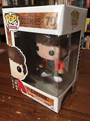 Funko Pop! Movies #79 Chunk The Goonies Vaulted/Retired Vinyl Figure Box damage - Goonies Chunk