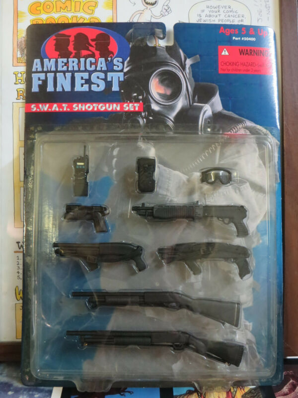 America's Finest SWAT Shotgun  Set for 12'' Action Figures (21st Century Toys)