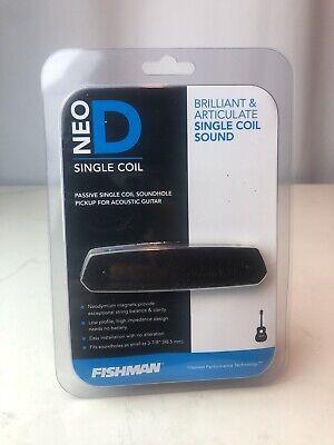 Fishman Neo-D Single Coil Acoustic Guitar Soundhole pickup