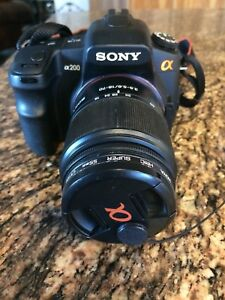 SONY A200 DIGITAL SLR CAMERA