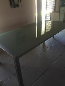 Nick Scalii Glass dining table Ashmore Gold Coast City Preview