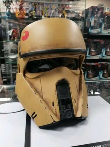 Anovos Star Wars Rogue One Weathered Shoretrooper helmet 1:1 Rare