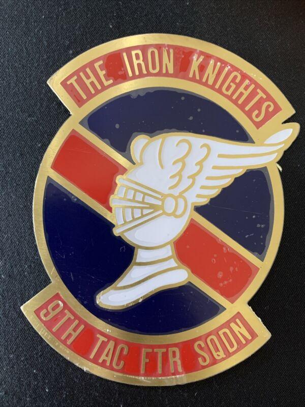 The Iron Knights 9th TAC FTR SQDN