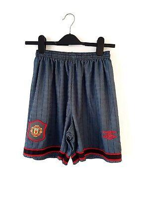 Grey Away Trikot (Manchester United Shorts 1995. 34