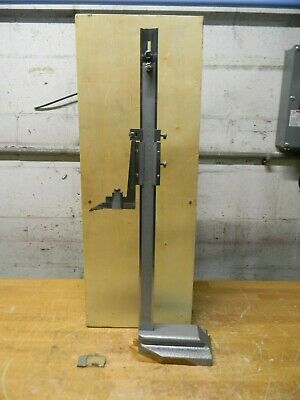 Professional Vernier Height Gage 0 To 18 In Range 0.0010 In Graduation 622-8518