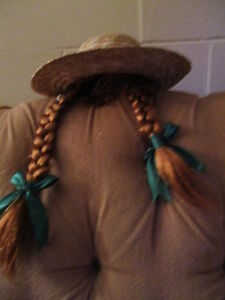 ANNE  OF  GREEN  GABLES  HAT with braids