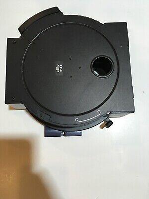 Nikon Microscope T-flc. Fluorescence Filter Wheel Cube Holder Turret Te2000-u