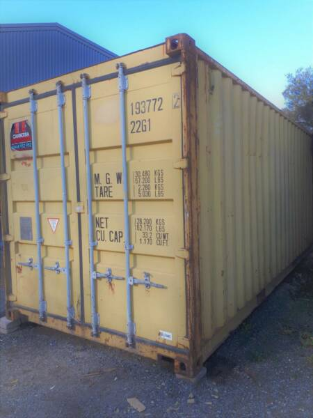 20ft shipping container Sheds Storage Gumtree Australia