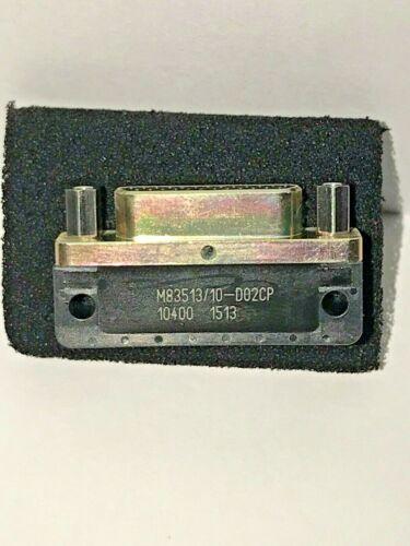 GLENAIR CONNECTOR D-SUBMINIATURE M83513/10-D02CP