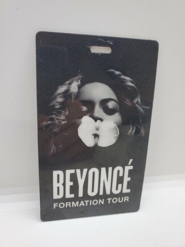Beyonce Formation Tour 2016 Laminate Pass