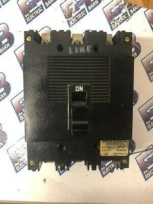 Square D 999350 50 Amp 600 Volt 3 Pole Circuit Breaker-test Reportwarranty