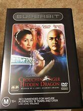 Crouching Tiger Hidden Dragon DVD Docklands Melbourne City Preview