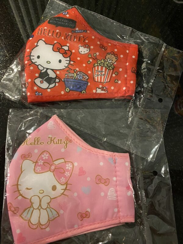 """""""Adult/Teens"""" ~Hello Kitty~ FACE MASK - WASHABLE (2 Masks)"""
