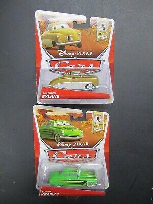 Disney Pixar Cars Diecast Lot Mildred Bylane Edwin Kranks Retro Springs New