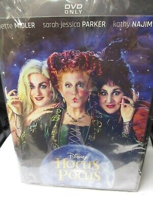 DISNEY HOCUS POCUS DVD NEW! HALLOWEEN WITCHES, BETTE MIDLER, FUN FAMILY CLASSIC!](Classic Halloween Movies Family)