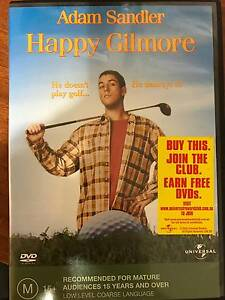 DVD - Happy Gilmore Caboolture South Caboolture Area Preview