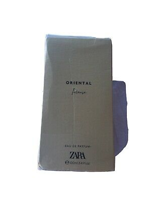 Zara Oriental Intense 100ml Eau De Parfum Brand New & Sealed
