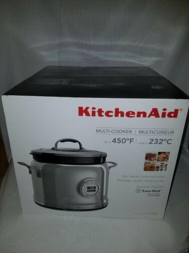 KitchenAid KMC4241CA 4 Quart Multi Cooker New open box