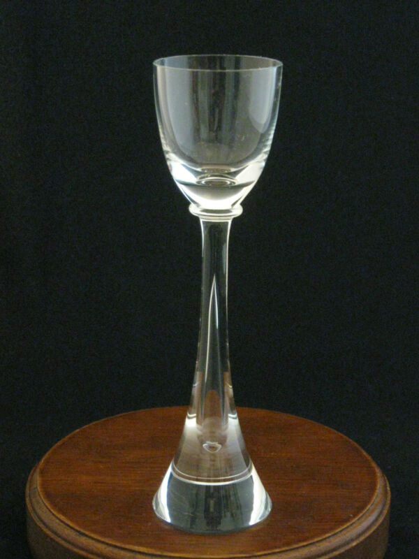 Kusak Crystal Apollo Hand Crafted Cordial Glass Made in USA