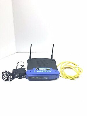 Linksys Wireless-G Broadband Router WRT54G 2.4 GHz 54 mbps 4 Port Switch ()