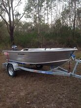 Stacer 359 seasprite with yamaha 4hp as new condition Griffin Pine Rivers Area Preview