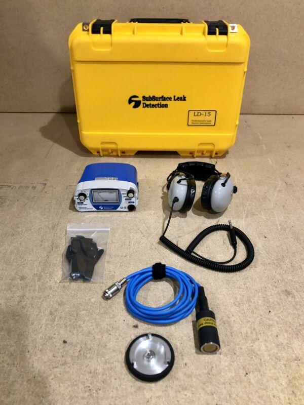 SubSurface Leak Detection LD-15 Survey Water Detector LD 15 LD15