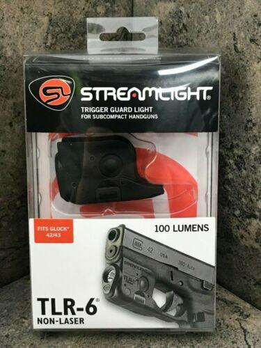 Streamlight TLR-6 LED Flashlight for Glock 42/43/43X/48 NO Laser 69280
