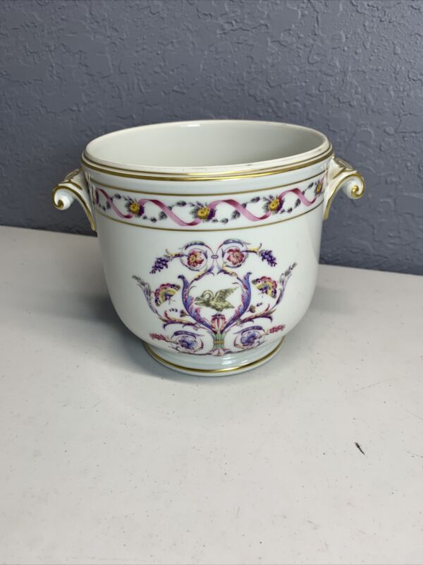 Beautiful Richard Ginori IMPERO Butterfly/Floral Cache Pot Italy