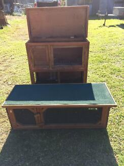 Rabbit Hutches Two Storey and Single Story Grose Vale Hawkesbury Area Preview