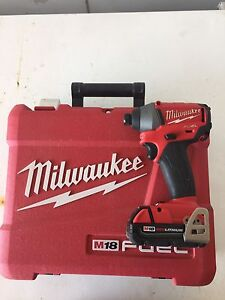 Milwaukee fuel impact drill kit