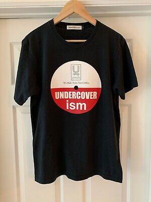 RARE!! Undercover (Undercoverism) Black Records Disc T Shirt US L / EU 52-54 / 3