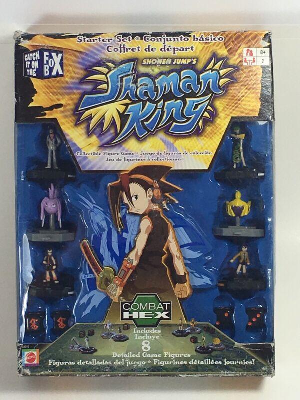 Shonen Jump's Shaman King Combat HEX Collectible Figure Game Mattel G3592