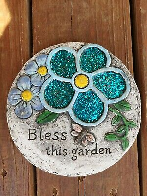 Garden Path Stepping Stone Wall Plaque NEW