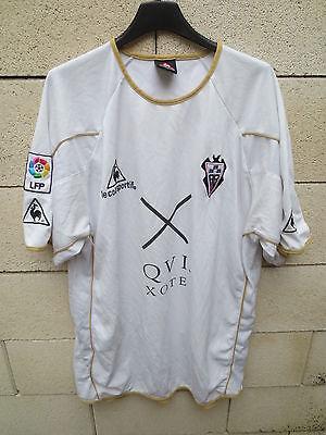 VINTAGE Maillot ALBACETE 2006 camiseta LE COQ SPORTIF LFP XXL image
