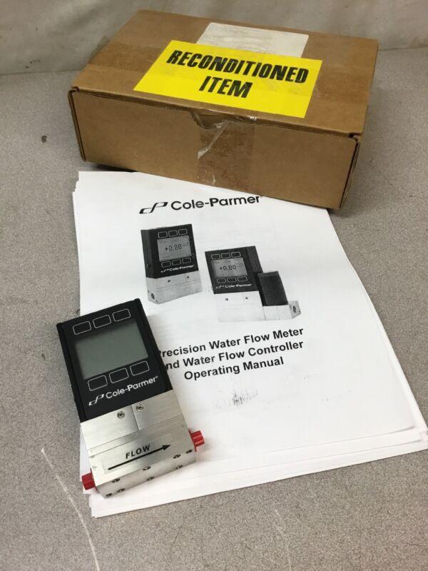 REFURBISHED Cole Parmer 32908-46 Precision Liquid Flowmeter; CO-L-500CCM-D