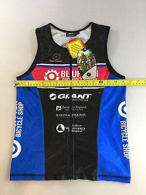 3edf7ec5e Pactimo Mens Size Medium M Tri Triathlon Top Jersey (6400-6)