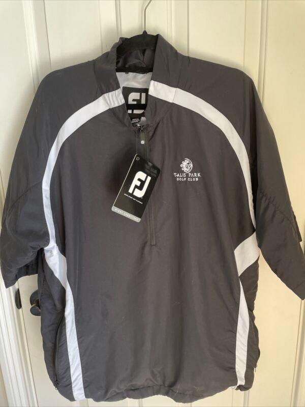 NWT Footjoy Men's Sport Windshirt SS XL