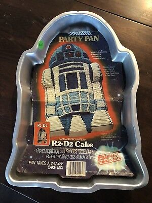 Vintage WILTON CHARACTER CAKE PAN R2-D2 STAR WARS 1980  BIRTHDAY PARTY HTF for sale  Mount Dora