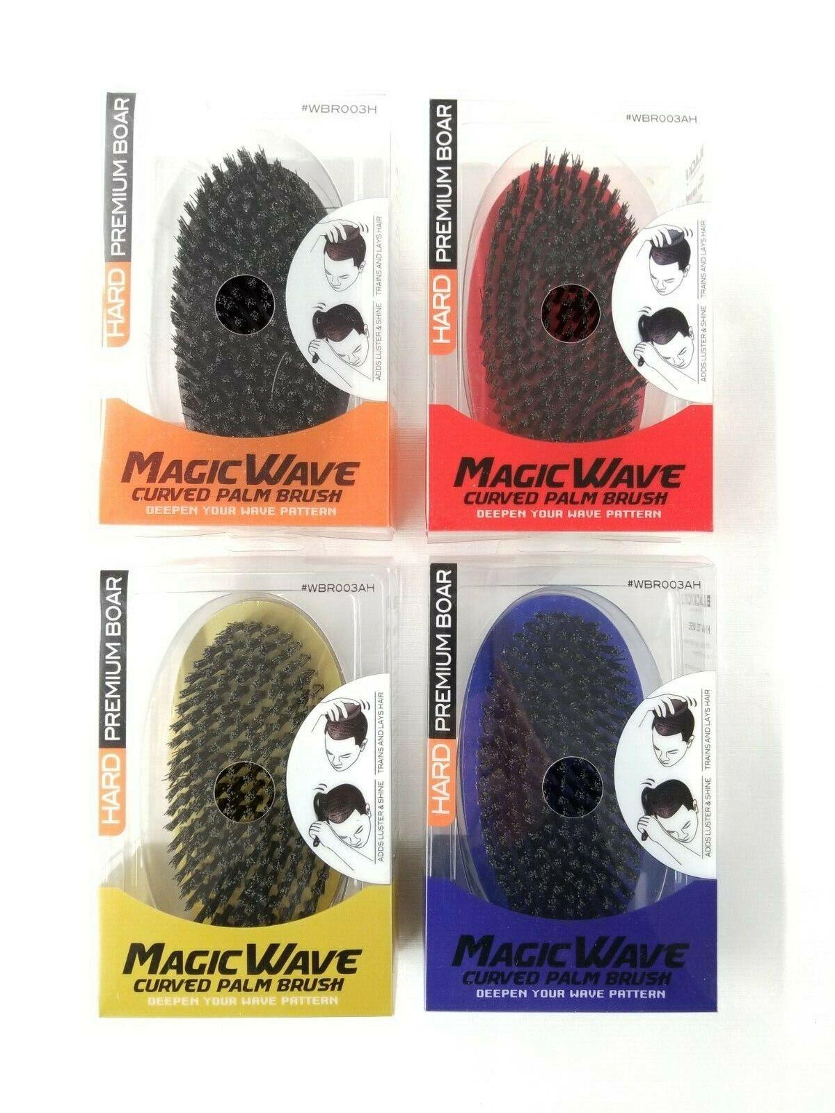 magic wave curved palm brush hard premium