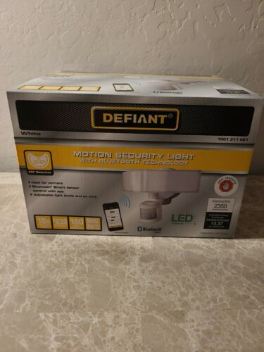 Defiant Motion Security 270 Degree Sensor  Detection LED Por