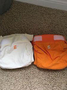 Cloth diapers- g diaper shells in EUC