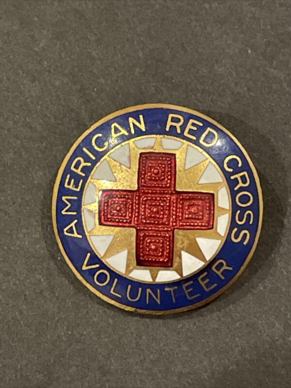 Rare American Red Cross Pin WWII ARC