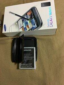 Samsung not new battery charger and empty box