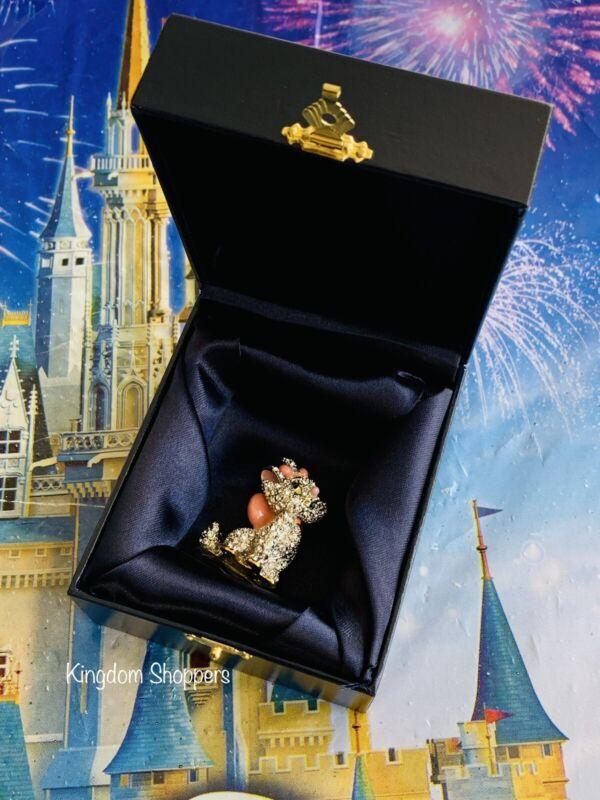 DISNEY Parks Jeweled MARIE ARISTOCATS Arribas Swarovski® Crystals Figure