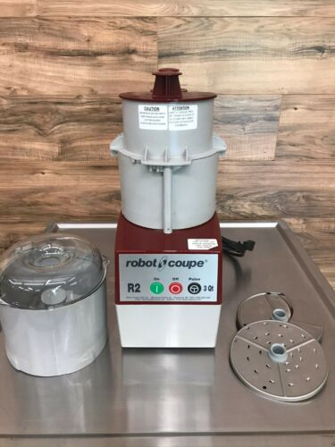 Robot Coupe R2N Food Processor w/ Continuous Feed, 3 Quart Bowl, Electric, 120 V