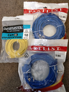 Ethernet LAN Cable Cat6 15 meter and 10 meter Canberra City North Canberra Preview