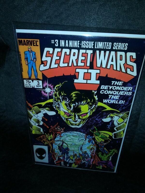 SECRET WARS II #3 ~ Marvel 1985 ~ 1st Appearance Beyonder! VF