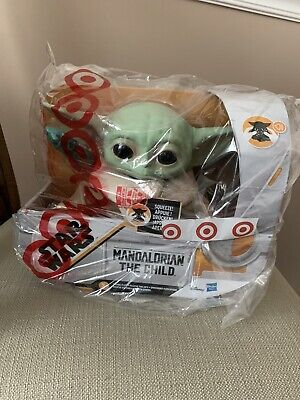 "New in hand Hasbro 7.5"" Star Wars The Child Baby Yoda Talking Plush Toy"